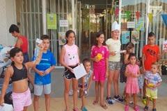 La Barriada El Puente acoge una participativa y exitosa Gymkhana