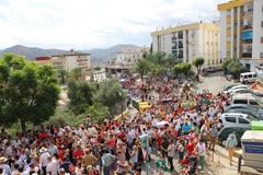 Álora celebra la Romería de la Virgen de Flores