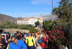 Más de 450 personas participan en la Hemiruta