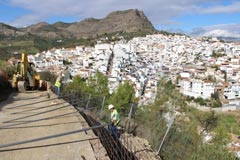 El Ayuntamiento inicia las obras para la construcci�n del Mirador 360�