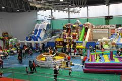El Pabell�n se convierte en un Parque de Atracciones Infantil