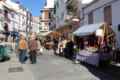 Álora disfruta del XII Mercado de Navidad