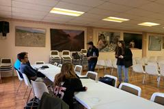 La Asociación Imagina realiza un taller de conversación en Inglés en Álora