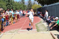 Escolares disfrutan de una jornada de atletismo, compa�erismo y diversi�n