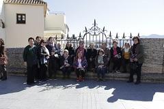 Más de 50 mujeres disfrutan de una visita cultural en Ronda