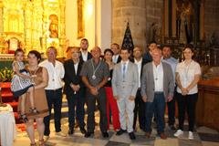 La nueva Junta de Gobierno de la cofradía La Pollinica toma posesión