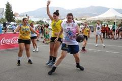Gran éxito en Álora con el Circuito Provincial de Baloncesto 3x3