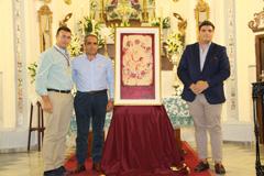 La Hermandad Virgen de Flores presenta el cartel de los Cultos Patronales