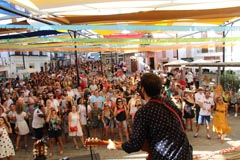La música y el showcooking conquistan la Fuente Arriba