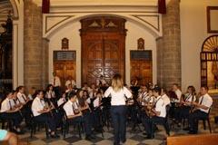 La Banda Municipal de M�sica participa en la Novena en Honor a la Patrona
