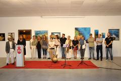 """Inaugurada la VIII Exposición """"Álora. Artistas Independientes"""""""