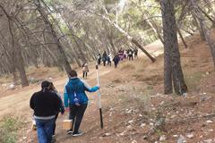 Álora participa en la colocación de Cajas Nido en el entorno del Caminito