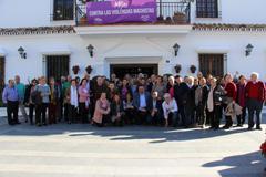 Un grupo de mayores visita Mijas