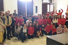 El Colegio El Hacho visita el Ayuntamiento de �lora