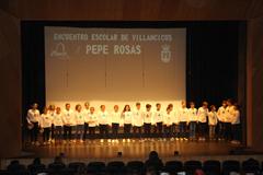 Cientos de Escolares rinden homenaje a Pepe Rosas
