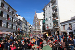 Gran afluencia de público en el XIII Mercado Navideño