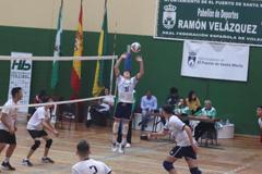 Dos perotes se proclaman campeones de Andalucía de Voleibol