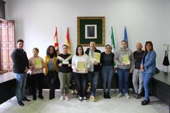 Entrega de premios de los Concursos de Decoraci�n Navide�a
