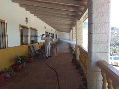 El Ayuntamiento refuerza las labores de limpieza y desinfecci�n