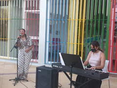 Velada musical en la Barriada El Puente