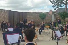 La Banda de Música Municipal graba un vídeo para celebrar Santa Cecilia