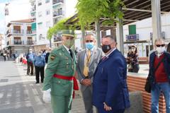 El Alcalde de �lora recibe al General Jefe de la Legi�n